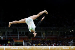 Gymnastics - Artistic - Olympics: Courtney McGregor