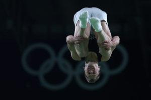 Gymnastics - Trampoline - Olympics: Dylan Schmidt