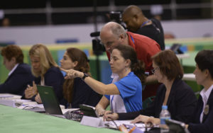 2016 Olympic Games Test Event: judges