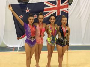 NZ junior rhythmic win bronze in namibia