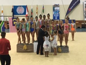 NZ rhythmic team bronze Namibia