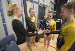 Wellington gymnasts at 2016 NZ GymSports Championships