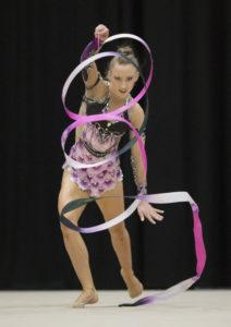 Keziah Olive ribbon rhythmic gymnast nz