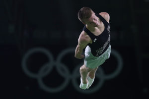 Dylan Schmidt NZ trampoline gymnast Rio 2016