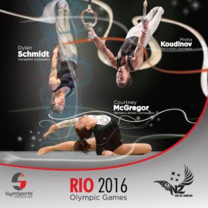 NZ gymnasts Rio 2016