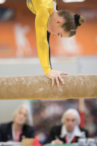 wellington gymnast on beam