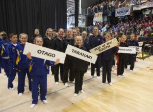 2016 NZ Gymsports Championships opening ceremony
