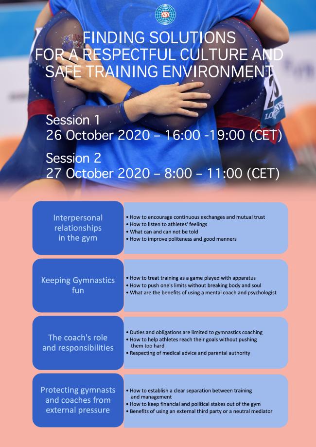 FIG e-conference agenda topics